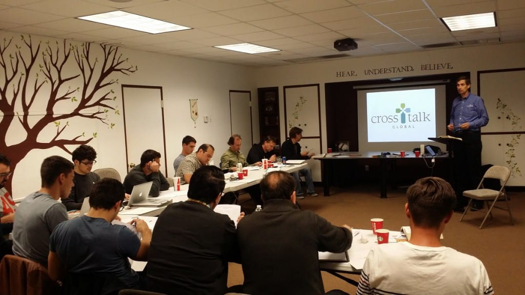 Romanian-American pastors enjoying a 1-day CrossTalk Global seminar in Anaheim, December 2014